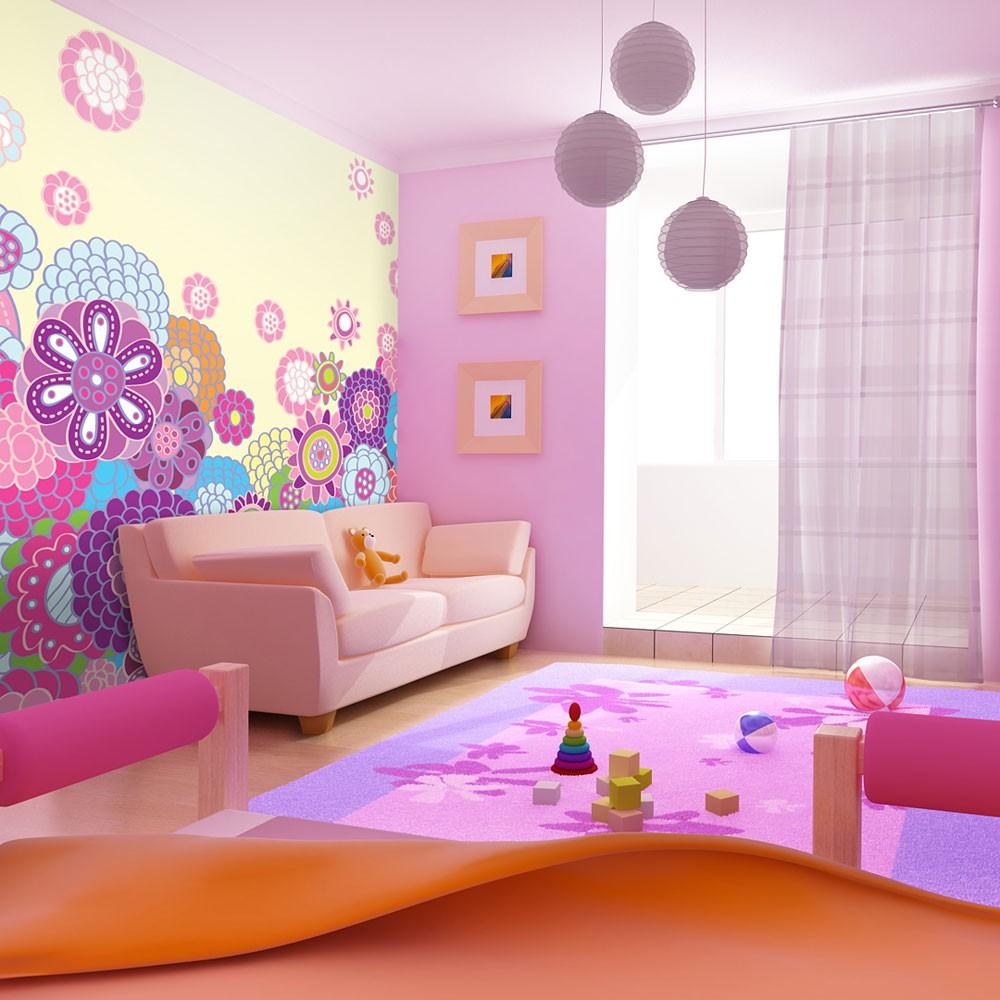 Fototapety do pokoju dziewczynki – małej księżniczki