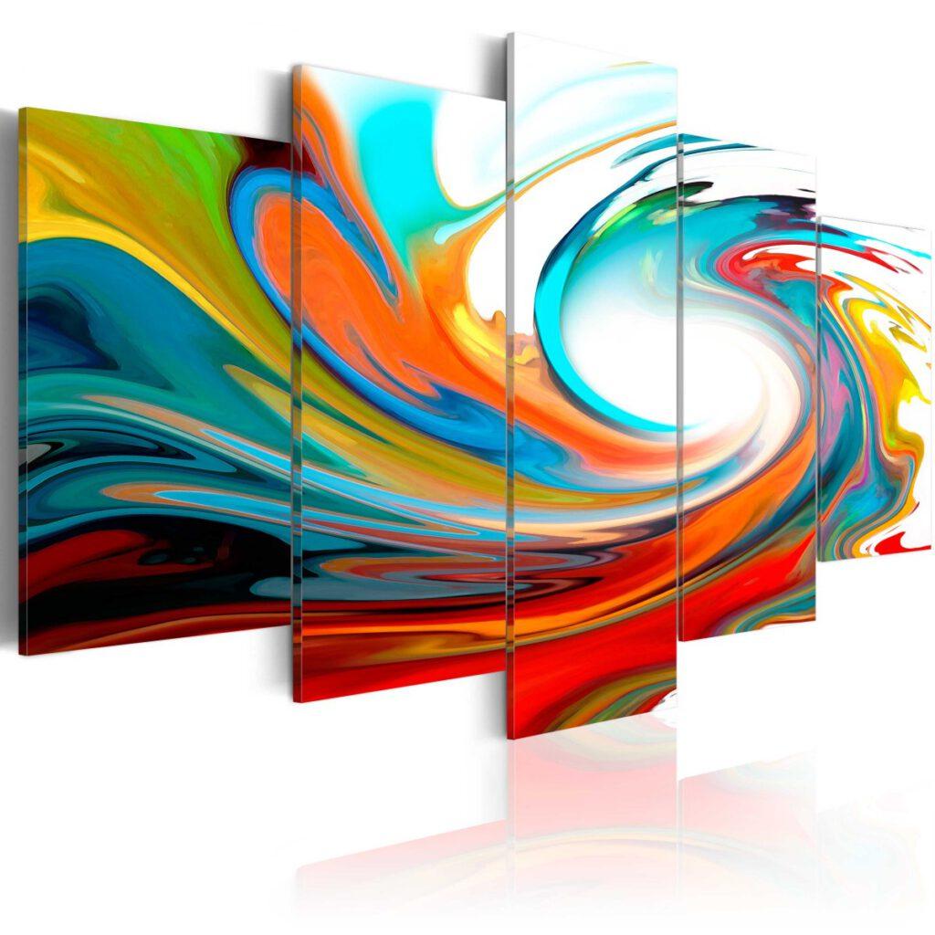 nowoczesne obrazy abstrakcyjne
