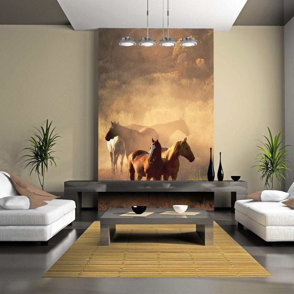 Dostojne, galopujące, szlachetne – fototapety konie hitem sezonu!