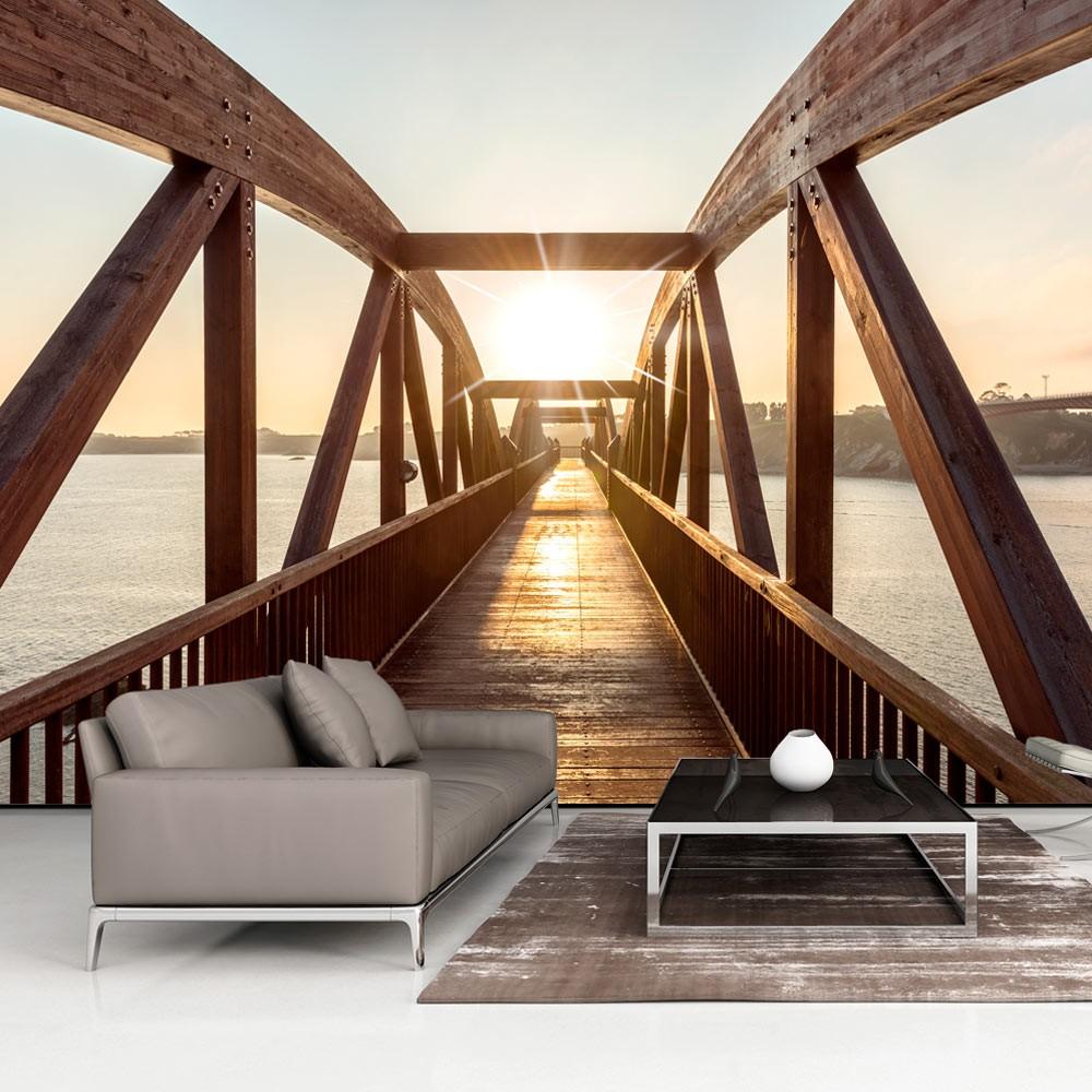 Wizerunki mostów w roli naściennej ozdoby. Fototapety mosty – styl, urok, powiew wielkiego świata!