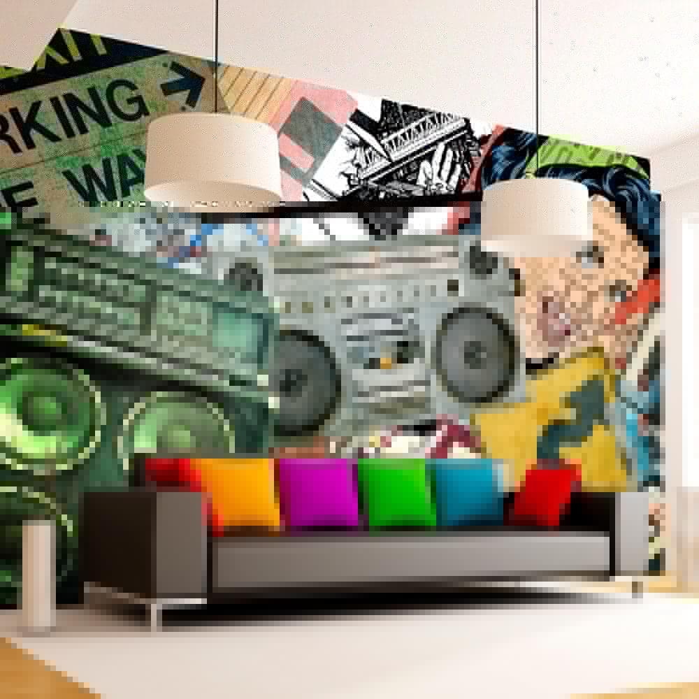 Fototapety graffiti – liczy się kolor, pomysł, pozytywna energia!