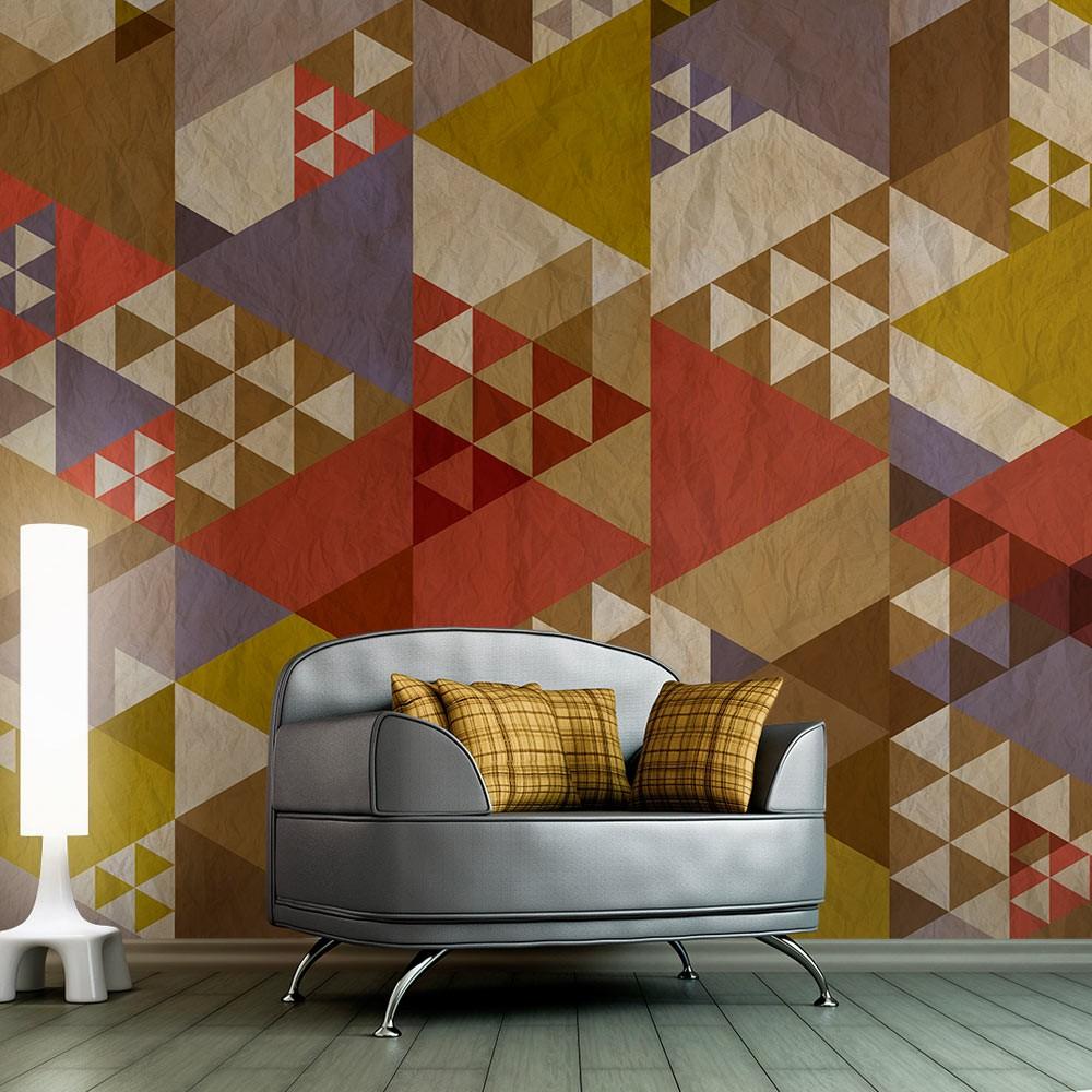 tapety na ścianę wzory